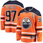 Fanatics Branded Connor McDavid Edmonton Oilers Youth Royal Home Breakaway Player Jersey