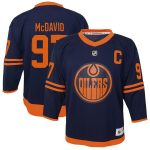 Connor McDavid Edmonton Oilers Toddler Navy Alternate Replica Player Jersey