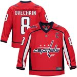 Fanatics Branded Alexander Ovechkin Washington Capitals Youth Red Replica Player Jersey