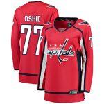 Fanatics Branded TJ Oshie Washington Capitals Women's Red Home Breakaway Player Jersey