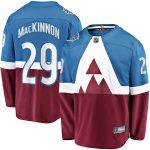 Fanatics Branded Nathan MacKinnon Colorado Avalanche Blue/Burgundy 2020 Stadium Series Breakaway Player Jersey