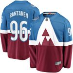 Fanatics Branded Mikko Rantanen Colorado Avalanche Blue/Burgundy 2020 Stadium Series Breakaway Player Jersey