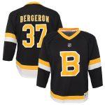 Patrice Bergeron Boston Bruins Infant Black Alternate Replica Player Jersey