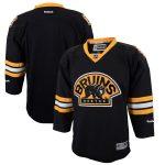 Reebok Boston Bruins Youth Black Premier Alternate Jersey