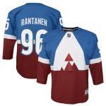 Mikko Rantanen Colorado Avalanche Youth Blue/Burgundy 2020 Stadium Series Premier Player Jersey