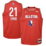 Jordan Brand Joel Embiid Youth Red 2020 NBA All-Star Game Swingman Jersey