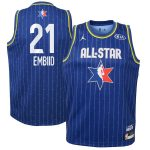 Jordan Brand Joel Embiid Youth Blue 2020 NBA All-Star Game Swingman Jersey