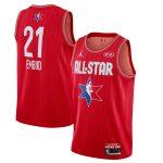 Jordan Brand Joel Embiid Red 2020 NBA All-Star Game Swingman Finished Jersey