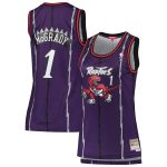 Mitchell & Ness Tracy McGrady Toronto Raptors Women's Purple 1998-99 Hardwood Classics Swingman Jersey