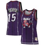 Mitchell & Ness Vince Carter Toronto Raptors Women's Purple 1998-99 Hardwood Classics Swingman Jersey