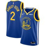 Nike Willie Cauley-Stein Golden State Warriors Royal Swingman Badge Jersey - Icon Edition