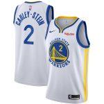 Nike Willie Cauley-Stein Golden State Warriors White Swingman Badge Jersey - Association Edition