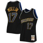 Mitchell & Ness Chris Mullin Golden State Warriors Black Rings Collection Swingman Jersey