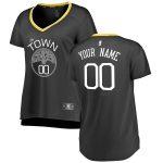 Fanatics Branded Golden State Warriors Women's Black Fast Break Replica Custom Jersey - Statement Edition