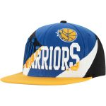 Mitchell & Ness Golden State Warriors Royal Multiply Snapback Hat