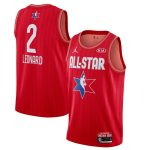 Jordan Brand Kawhi Leonard Red 2020 NBA All-Star Game Swingman Finished Jersey