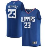 Fanatics Branded Lou Williams LA Clippers Youth Royal Fast Break Replica Team Jersey - Icon Edition