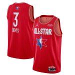 Jordan Brand Anthony Davis Red 2020 NBA All-Star Game Swingman Finished Jersey