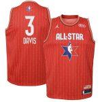 Jordan Brand Anthony Davis Youth Red 2020 NBA All-Star Game Swingman Jersey