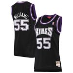 Mitchell & Ness Jason Williams Sacramento Kings Women's Black 2000-01 Hardwood Classics Swingman Jersey