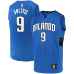 Fanatics Branded Nikola Vucevic Orlando Magic Blue Fast Break Team Replica Jersey - Statement Edition