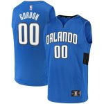 Fanatics Branded Aaron Gordon Orlando Magic Blue Fast Break Team Replica Jersey - Statement Edition