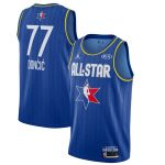 Jordan Brand Luka Doncic Blue 2020 NBA All-Star Game Swingman Finished Jersey