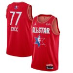 Jordan Brand Luka Doncic Red 2020 NBA All-Star Game Swingman Finished Jersey