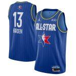 Jordan Brand James Harden Blue 2020 NBA All-Star Game Swingman Finished Jersey