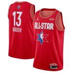 Jordan Brand James Harden Red 2020 NBA All-Star Game Swingman Finished Jersey
