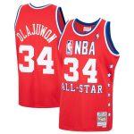 Mitchell & Ness Hakeem Olajuwon Red Western Conference 1988 All-Star Hardwood Classics Swingman Jersey