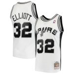 Mitchell & Ness Sean Elliott San Antonio Spurs White 1998-99 Hardwood Classics Swingman Jersey