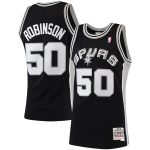 Mitchell & Ness David Robinson San Antonio Spurs Black 1998-99 Hardwood Classics Swingman Jersey