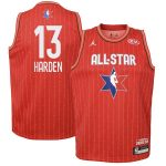 Jordan Brand James Harden Youth Red 2020 NBA All-Star Game Swingman Jersey