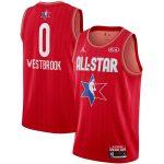Jordan Brand Russell Westbrook Youth Red 2020 NBA All-Star Game Swingman Jersey