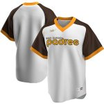 Nike San Diego Padres White Home Cooperstown Collection Team Jersey