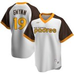 Nike Tony Gwynn San Diego Padres White Home Cooperstown Collection Player Jersey