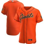 Nike San Francisco Giants Orange Alternate 2020 Authentic Official Team Jersey