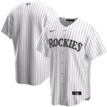 Nike Colorado Rockies White Home 2020 Replica Team Jersey