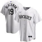Nike Charlie Blackmon Colorado Rockies White Home 2020 Replica Player Jersey