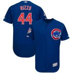 Majestic Anthony Rizzo Chicago Cubs Royal Flex Base Authentic Collection Player Jersey