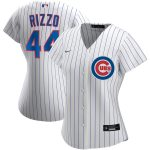 Nike Anthony Rizzo Chicago Cubs Women's White Home 2020 Replica Player Jersey
