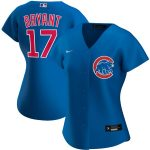 Nike Kris Bryant Chicago Cubs Women's Royal Alternate 2020 Replica Player Jersey