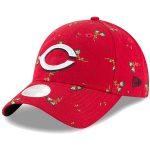New Era Cincinnati Reds Women's Red Blossom 9TWENTY Adjustable Hat