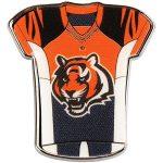 "WinCraft Cincinnati Bengals 1"" x 1"" Jersey Pin"