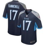 Nike Ryan Tannehill Tennessee Titans Navy Game Jersey
