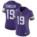 Nike Adam Thielen Minnesota Vikings Women's Purple Vapor Untouchable Limited Jersey