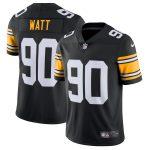 Nike T.J. Watt Pittsburgh Steelers Black Alternate Vapor Untouchable Limited Jersey