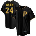 Nike Chris Archer Pittsburgh Pirates Black Alternate 2020 Replica Player Jersey