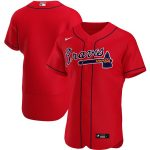 Nike Atlanta Braves Red Alternate 2020 Authentic Official Team Jersey